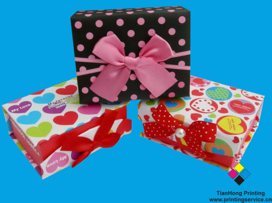 Wholesale Custom Cardboard Gift Paper Box (OEM-BX006)