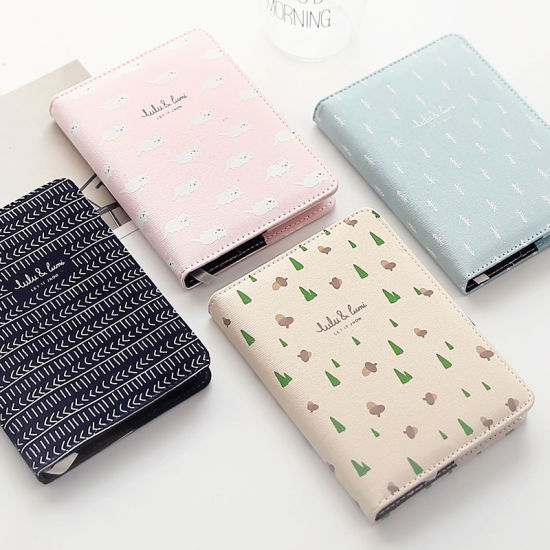 Hot Sale Custom Printing Different Style Cloth and Paper Notebook