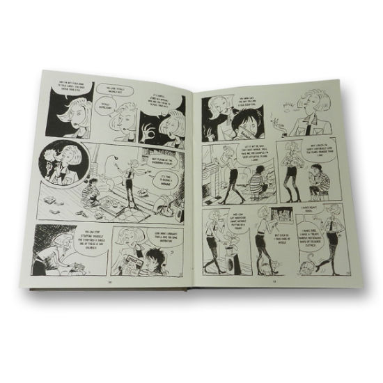 High Quality Hardcover Comic Book/ Comic Hardcover Book Printing