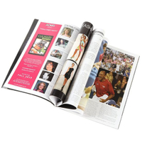 High Quality Softcover Offset Printing Glossy Paper Full Color Magazine