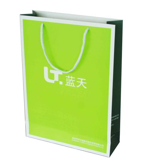 Luxury Paper Packing Shopping Bag Printing