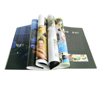Perfect Binding Book Printing/ Magazine / Brochure Printing (OEM-JS002)