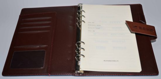 Delicate Yo Binding Note Book Printing with PU Cover