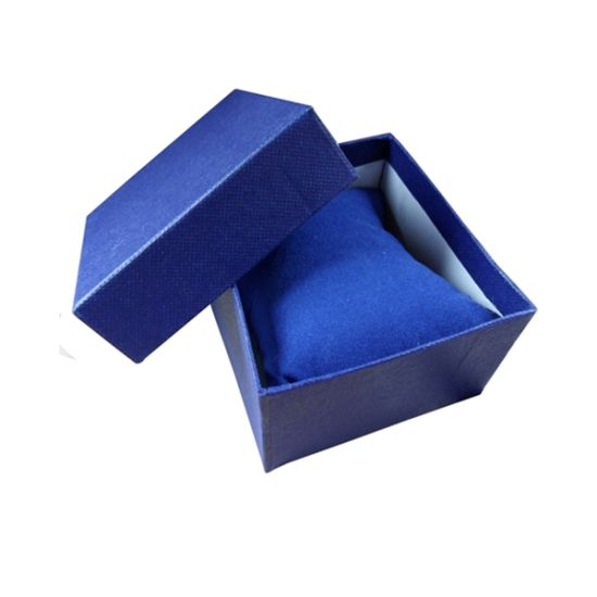 Blue Paperboard Box for Jewelry