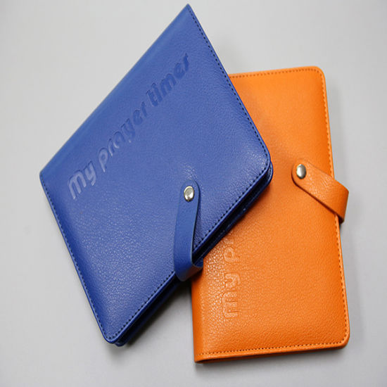 Colour Leather Cover Notebook Printing