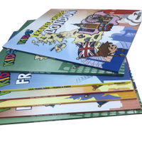 Paper Offest Printing, Softcover Children Book Printing