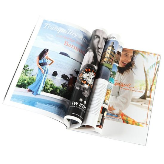 Full Colors Cheap Flexible Bound Book Printing