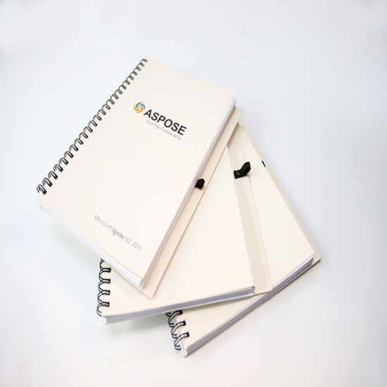 Spiral Binding Notebook with Soft Cover