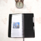 Hot Sale Spiral Binding PU Leather Soft Cover Wire-O Notebook