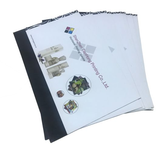 High Quality Colorful Brochure Printing/ Catalogue Printing/ Softcover Book