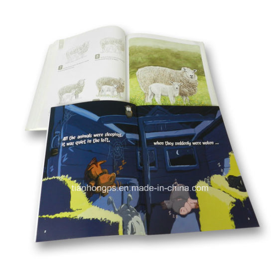 Beautiful Soft Cover Art Ppaer Story Book Printing