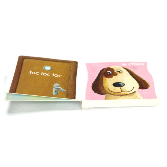 Custom Board Book, Special Shape, Child Book (OEM-EH080)