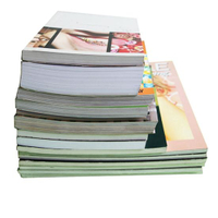 Custom Design Softcover Book Offset Printing with Perfect Binding